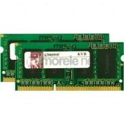 Kit Dual Channel Kingston 8GB (2 x 4096MB), DDR3, 1333MHz, Non-ECC, CL9, SODIMM