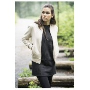 Geaca imitation suede bomber jacket dama - Urban Classics - NISIP