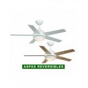 AireRyder Ventilador De Techo Con Luz Aireryder Fn52217 Fresco Blanco O Pino/blanco