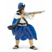 Figurina Papo-Capitan regal cu muscheta rosu