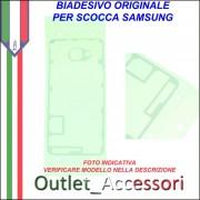 Biadesivo Adesivo Copribatteria Samsung A3 2017 A320 Originale Back Cover