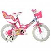 Dino Bikes Bicicleta Disney Princess 14 pulgadas