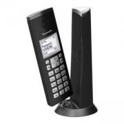 Безжичен DECT телефон Panasonic KX-TGK210EXB - черен, 1015148
