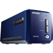 Plustek OpticFilm 8100 Film and Slide Scanner, Blue