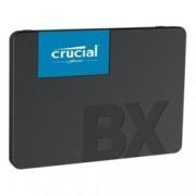 "SSD 480GB Crucial BX500, SATA 6Gb/s, 2.5""(6.35 cm), скорост на четене 540 MB/s, скорост на запис 500 MB/s"