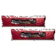 Memorie G.Skill Flare X (For AMD), DDR4, 2x8GB, 2400MHz, CL16 (Rosu)