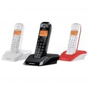 Motorola S1203 Pack 3 Telefones Sem Fios Coloridos