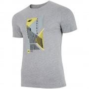 Мъжка Тениска 4F TSM022 Light Grey