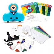 Wonder Workshop Dash Robot Coding for Kids 6+ Dash Challenge Cards and Sketch Kit 5 Free Learn-to-Program Stem Apps Voice Activated Navigates Objects Creating Confident Digital Citizens