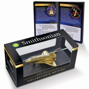 InAir Space Explorer Gold Space Shuttle in Collectors Case Gold