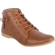 Aaiken Men's Tan Lace-Up Boots