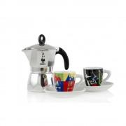 Set Espressor Bialetti Dama Arte 3 cesti+2 c.arte espresso