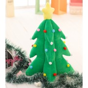 Grabadeal 15 Inch Beautiful Green Christmas Tree Gift Soft Toy