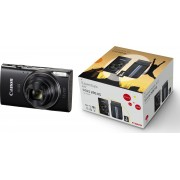 Canon IXUS 285 HS Zwart - Premium Kit - Zwart
