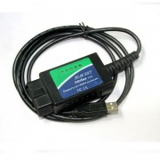 USB ELM327 V1.4 OBDII EOBD CANBUS FT232RL usb fiat alfa autódiagnosztikai kábel