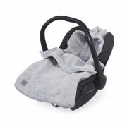 Jollein Voetenzak Comfortbag Confetti Knit Grey