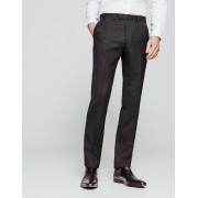 Brice Pantalon de costume coupe droite en laine Gris taille: 44