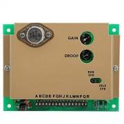 Jectse Tablero electrónico del controlador de velocidad, 1KHz ~ 6.5KHz Tablero de control de velocidad del gobernador 3062323 Accesorios del generador del controlador, Piezas del generador del controlador