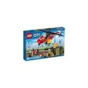 LEGO-CITY Corpo de Intervenção dos Bombeiros 257 peças 60108