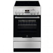 Готварска печка Electrolux EKC54952OX, клас A, 58л. обем, стъклокерамичен готварски плот с 4 нагревателни зони, система Hot Air, инокс
