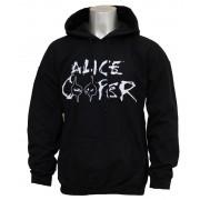 kapucnis pulóver férfi Alice Cooper - Eyes Logo - ROCK OFF - ACHOOD01MB