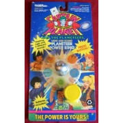 Captain Planet Light and Sound Planeteer Silver Power Ring