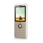 """Mobilni telefon Lesia P8 Prime Gold, 2.4"""", 1000mAh, Kamera, Dual SIM"""