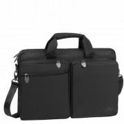 Notebook táska, 16, RIVACASE Tiergarten 8530, fekete (NTRT8530B)