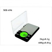 ATOM Ming Heng Electronic Digital Jewellery Scale-694 With Max Capacity 600 gm