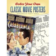 Color Your Own Classic Movie Posters, Paperback