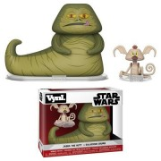 Star Wars VYNL Vinyl Figures 2-Pack Jabba & Salacious Crumb 10 cm