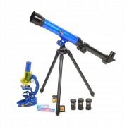 Telescop Astronomic cu Microscop si Accesorii pentru Copii
