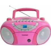 Microsistem audio Blaupunkt Boombox BB15PK CD Player tuner FM USB 2x2W pink