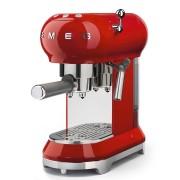 SMEG ECF01RDEU szabadonálló rusztikus kávéfőző - piros