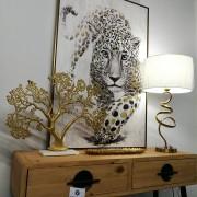 Pareja cuadros 40 cm madera pintada