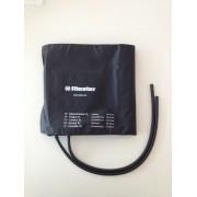 Brazalete para tensiometro Riester, negro, 2 canos, adultos, muslo XL 100 x 26 cm. Perimetro 50 -70 cm (ATÉ FIM DE EXISTÊNCIAS)