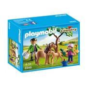 Playmobil Country, Veterinar cu ponei si manz