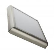 MoonLed - Plafon LED de teto quadrado 30x30x4cm 24W prateado - MoonLed