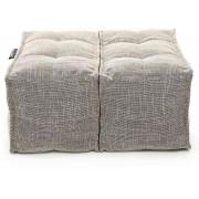Ambient Lounge Poef Twin Ottoman - Eco Weave