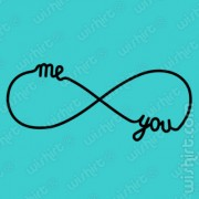 T-shirt Me You Infinity Love