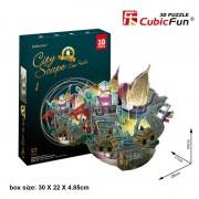 PUZZLE 3D - CBF3 - Cityscape - New York (cu LEDs) - CUBICFUN