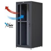 """Armadio Server Rack 19"""" 800x1000 42U Nero Porta Grigliata"""
