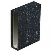 Niceday Cajetín archivador Niceday Folio 75 mm jaspeado