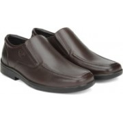Hush Puppies By Bata MAYCOB Slip on shoes For Men(Brown)