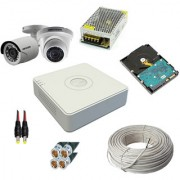 OMRC Hikvision 4CH DVR DS-7A04HGHI-F1/ECO 1MP Bullet DS-2CE1AC0T-IRPF/ECO 1 No. 1MP Dome DS-2CE5AC0T-IRPF/ECO 1 No
