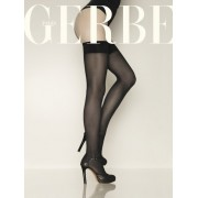 Gerbe - Semi opaque satiny support hold ups Sensitive 30 DEN