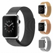 Milanese iWatch Band Loop Apple Watch Series 1 2 3 Stainless Steel