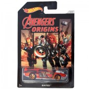 Avengers Marvel Legends Assemble Infinite Series Car By Hot Wheels (Black Widow - Rivited)