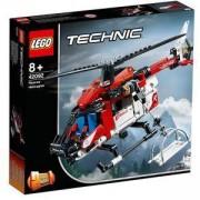Конструктор Лего Техник - Спасителен хеликоптер, LEGO Technic 42092