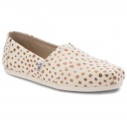 Обувки TOMS - Classic 10011646 Rose Gold/Natural Canvas Dots